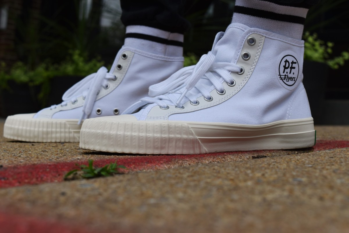 Summer Kicks Series: The PF Flyers Vintage Center Hi Sneakers