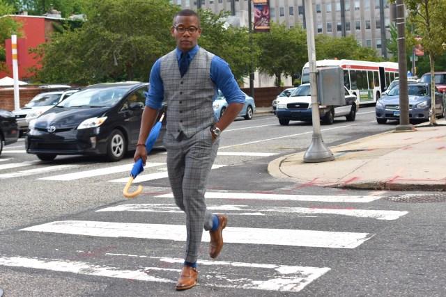 Sabir Of Men's Style Pro in Johnston & Murphy Cates Single Monk Strap Shoe