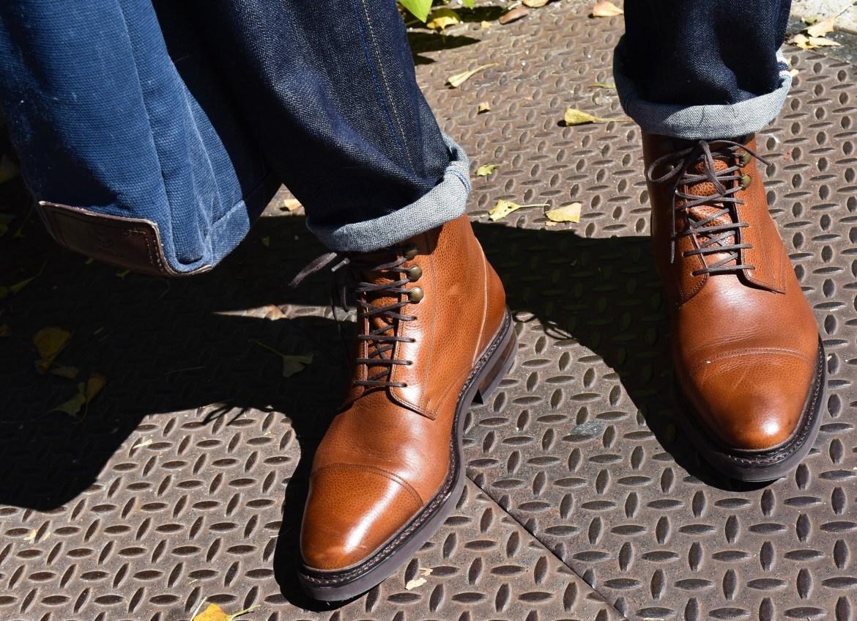 Sabir M. Peele Of Men's Style Pro in Cobbler Union George Boot