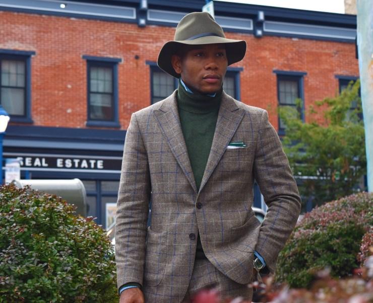 Oliver Wicks Check Tweed Suit