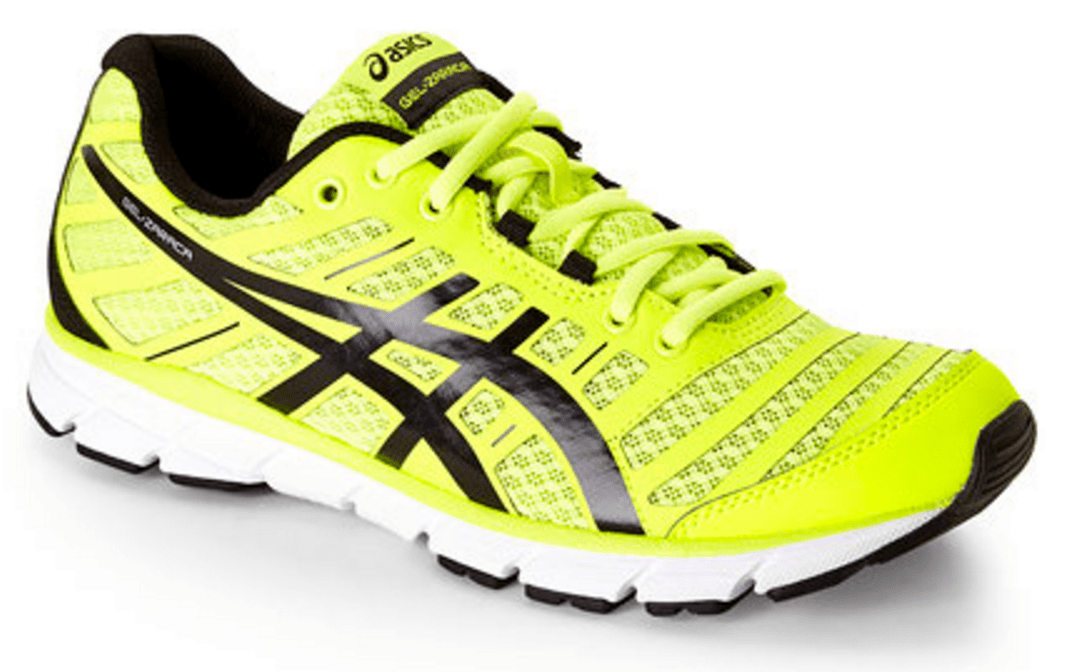 Asics Flash Yellow & Black Gel-Zaraca Sneakers