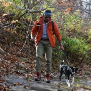 Sabir M. Peele of Men's Style Pro in Timberland Hiking Boots 22