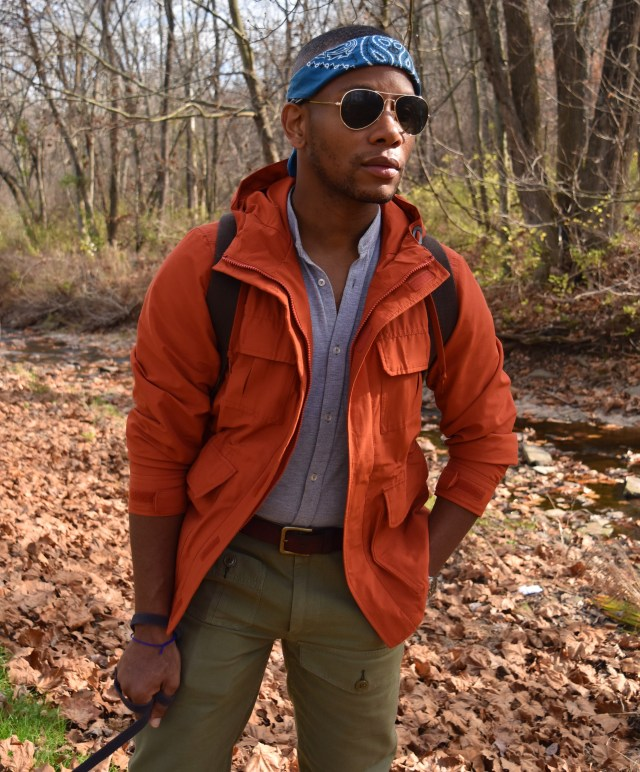 Sabir M. Peele of Men's Style Pro in Timberland Hiking Boots 25