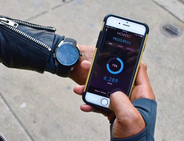 Sabir M. Peele of Men's Style Pro reviewing #MovadoBoldMotion, #EngineeredbyHP smartwatch