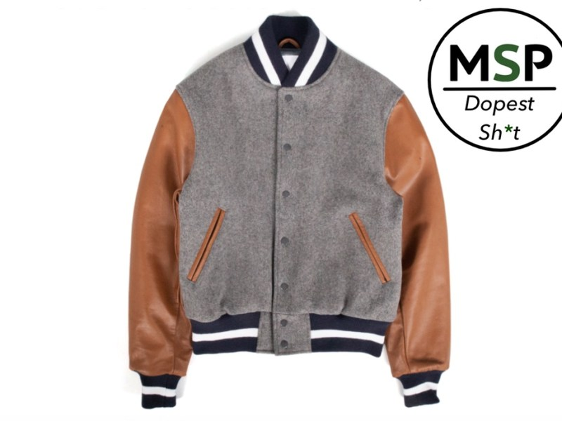 P's & Q's Golden Bear Varsity Jacket