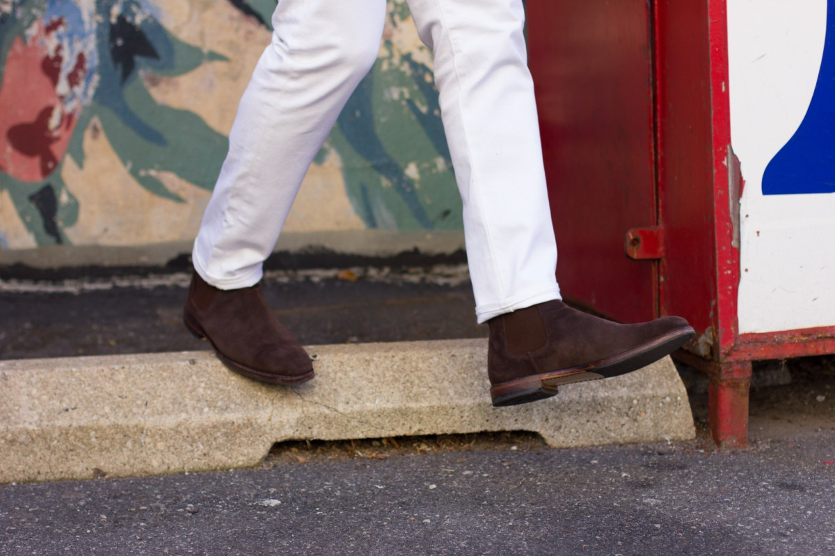 Chelsea Boots: Cognac Leather vs Chocolate Brown Suede