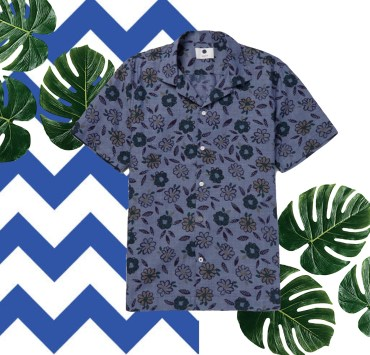 Men's Camp Collar & Floral Shirts