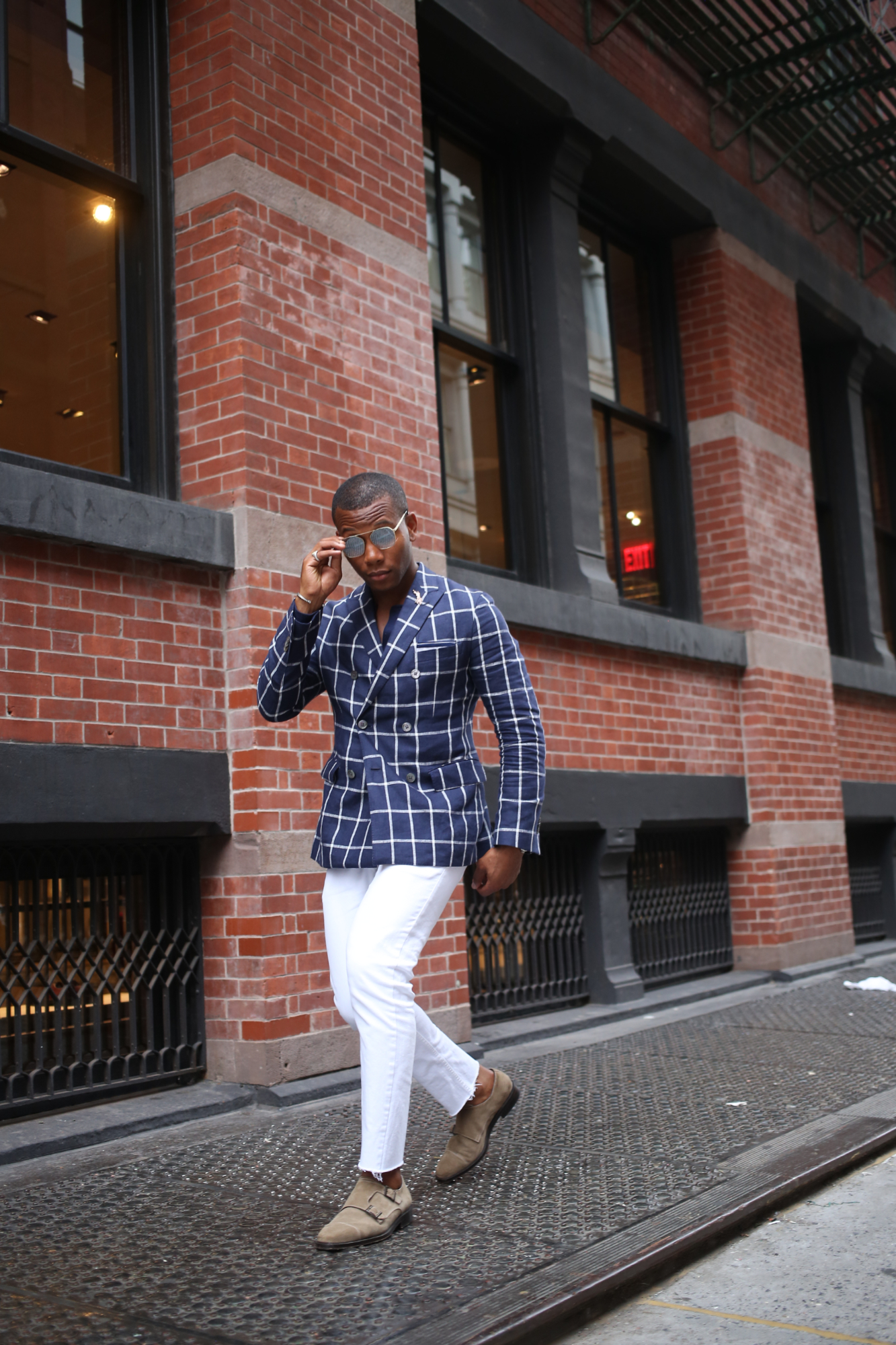 Men's Style Pro & Levitate Style in Check & Plaid Blazers