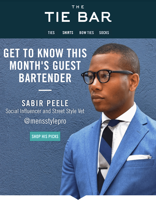 Men's Style Pro Guest Bartender for TheTieBar