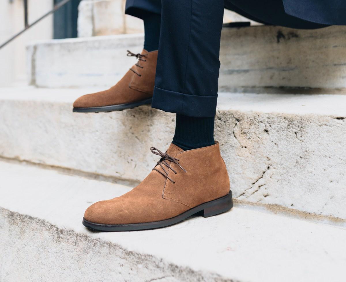 Snuff Suede Chukka Boots 3 Ways