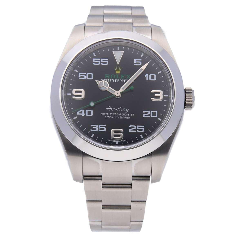 WatchBox Timepiece Rolex Air King