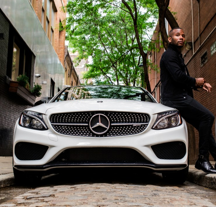 Sabir M. Peele of Men's Style Pro Review Mercedes Benz Collection