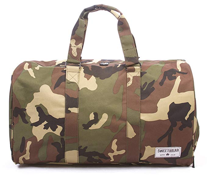 Sweet Briar Camo Duffle Bag