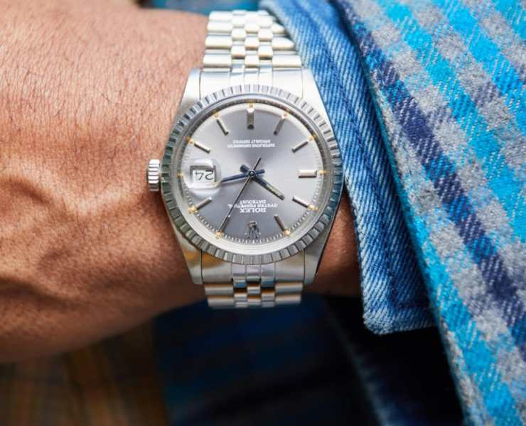 Rolex Datejust 1603 Watch via WatchBox
