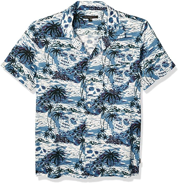 John Varvatos Camp Collar Shirt