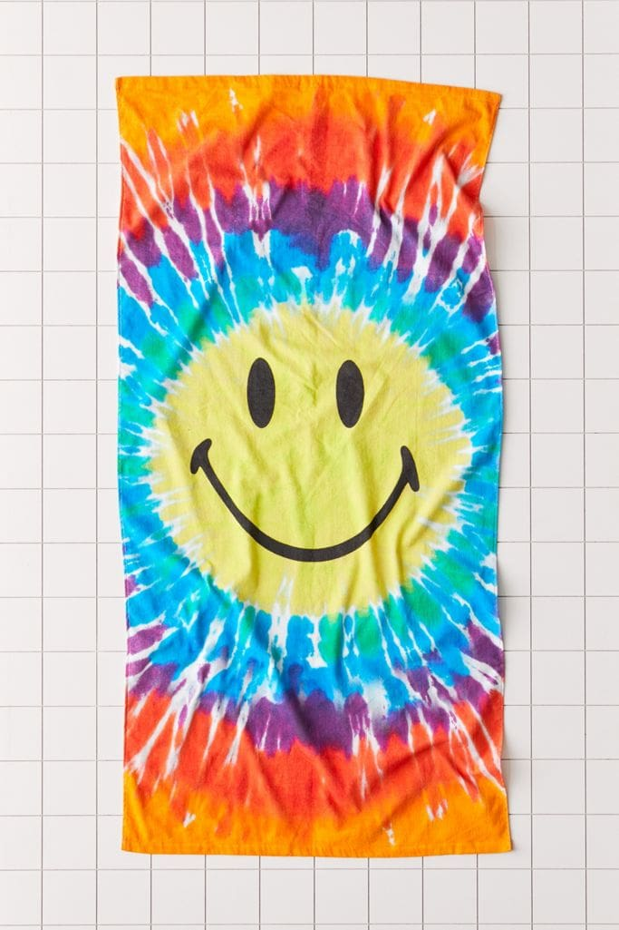 Chinatown Market for UO Tie Dye Beach Towel