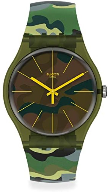 Swatch New Gent Camo