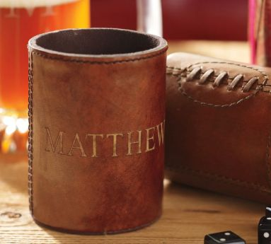 Leather Football Bottle Cooler_Stocking Stuffers for Men Who Love Beer