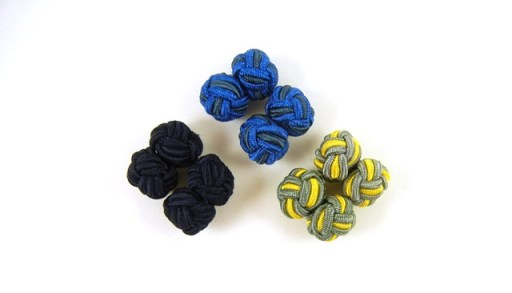Silk Knot Cufflinks_Stucking Stuffers for Men under $25