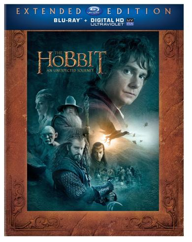 The Hobbit Blu Ray DVD_Stucking Stuffers for Men under $25