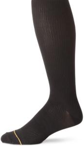 Gold Toe Men's Basic Rib Firm Compression Socks