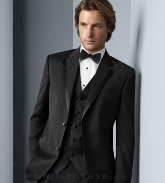 Tuxedo Vest Suit