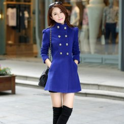 Colorful Cashmere Coat