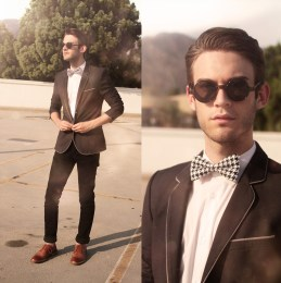 Sport Coat and Bow Tie