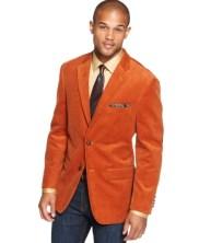 orange sports coat