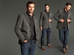 3 Trousers with blazer