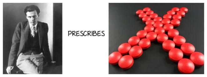 Aldous Huxley antidepressants