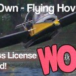 The amazing flying hovercraft