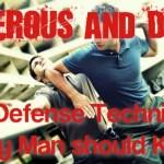 simple self defense techniques