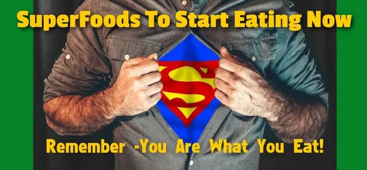 Amazing superfoods