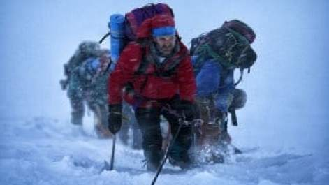 People climbing Everest photo