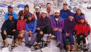 Everest expedition team 1996 photo