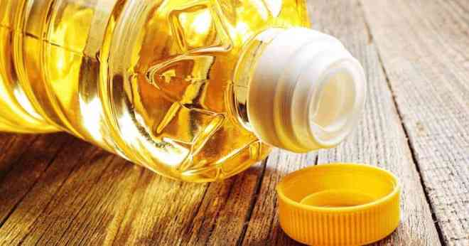Vegetable oil in plastic bottle - unnecessary callores
