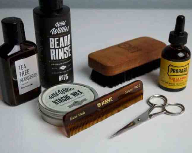 Beard care and grooming tools