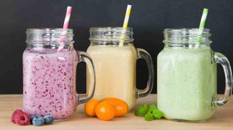 Six healthy smoothies and shakes