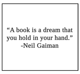 A book is a dream that you hold in your hand Quote