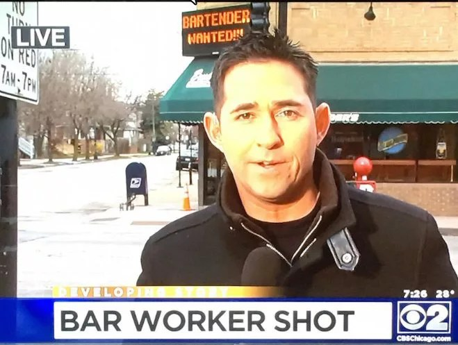 Bar Worker Shot