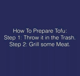 How to Prepare Tofu meme