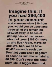 Imagine This 86,400 Seconds