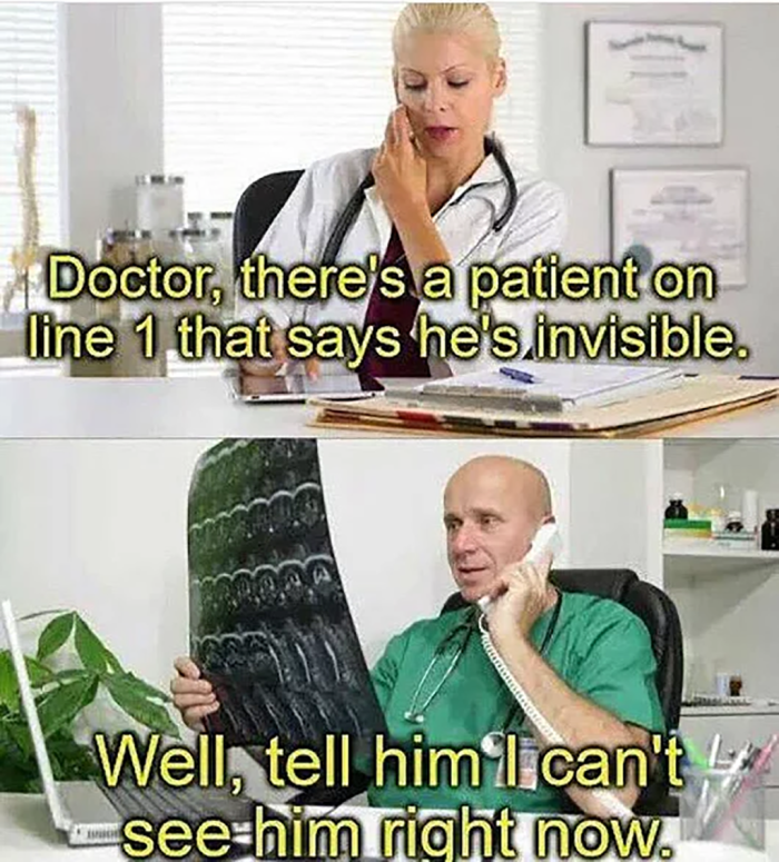 invisible patient