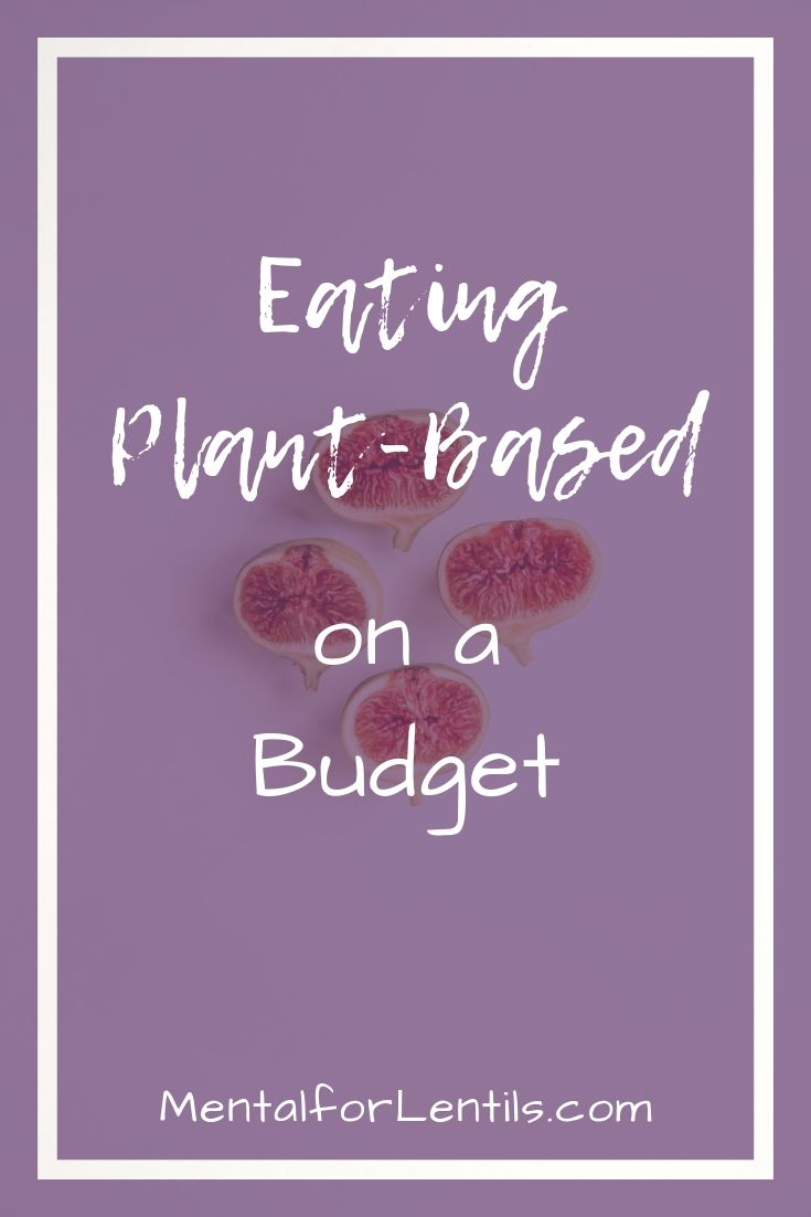 plant-based on a budget pin image 1