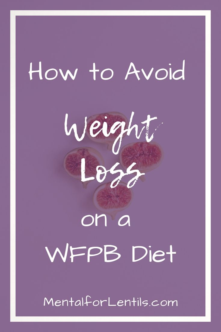 pin image for maintaining weight post