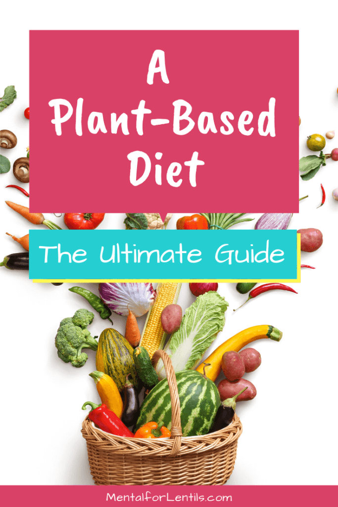 ultimate guide to plant-based diet pin image 2