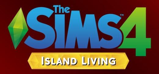 The Sims 4 Island Living Logo