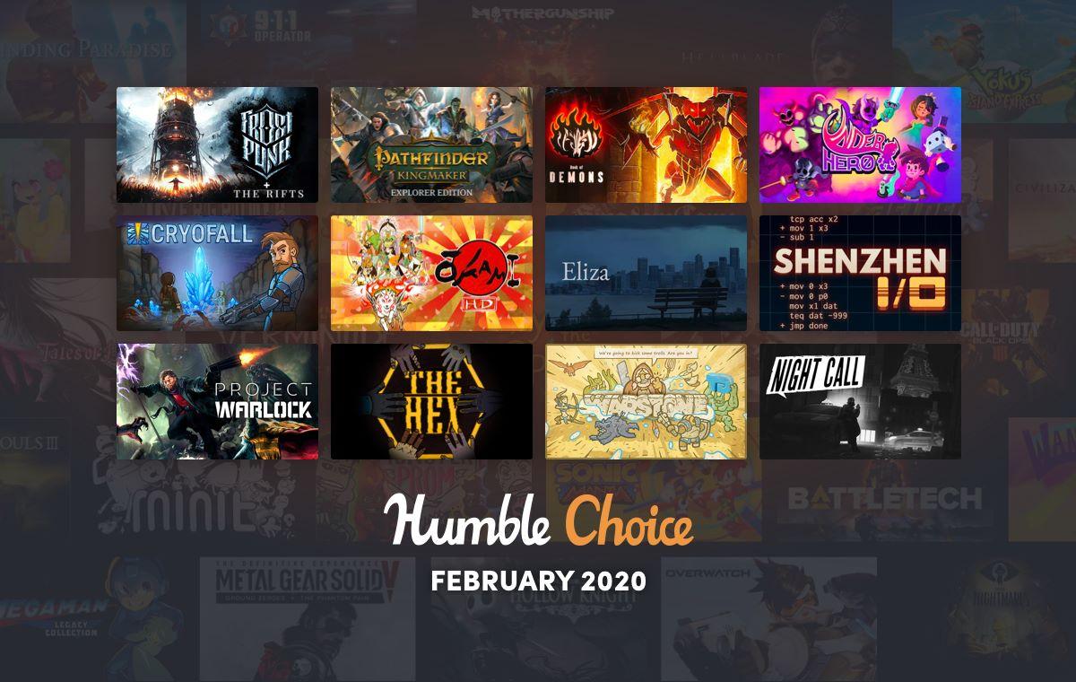 Humble Choice Feb 2020
