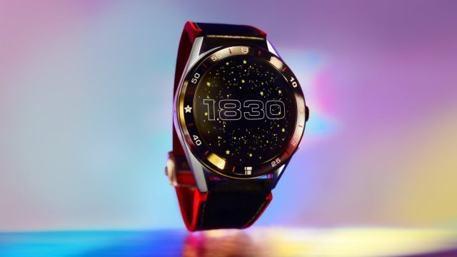 Watch with Time Face